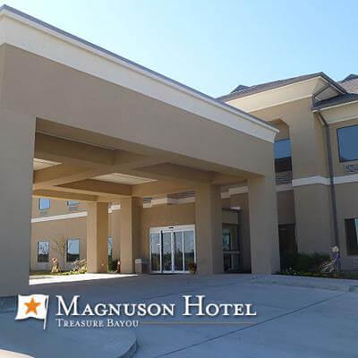 Magnuson Hotel Treasure Bayou