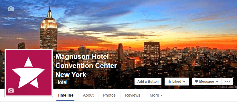 Magnuson Hotel Convention Center New York Facebook Page.